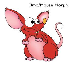 Sesame Street: Elmo/Mouse Morph