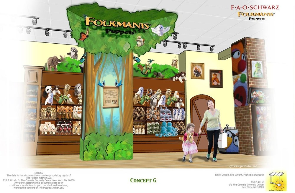 Folkmanis Store Installation: Art Direction