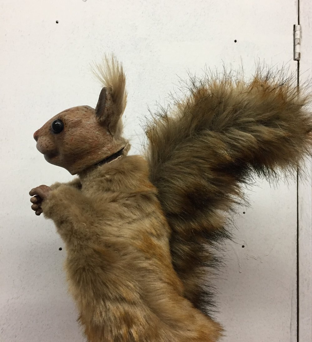 Colgate University's Children's Theater Workshop: Squirrel Design