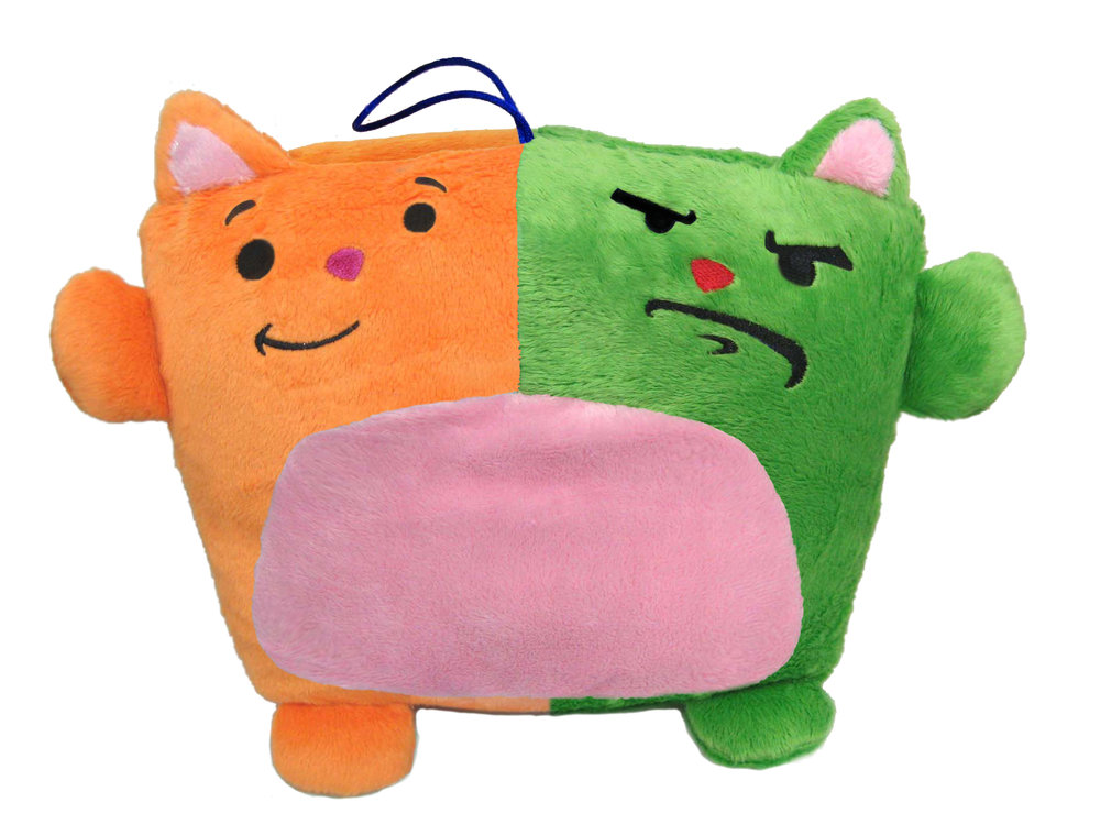 Konjoined Kitty: Plush Toy