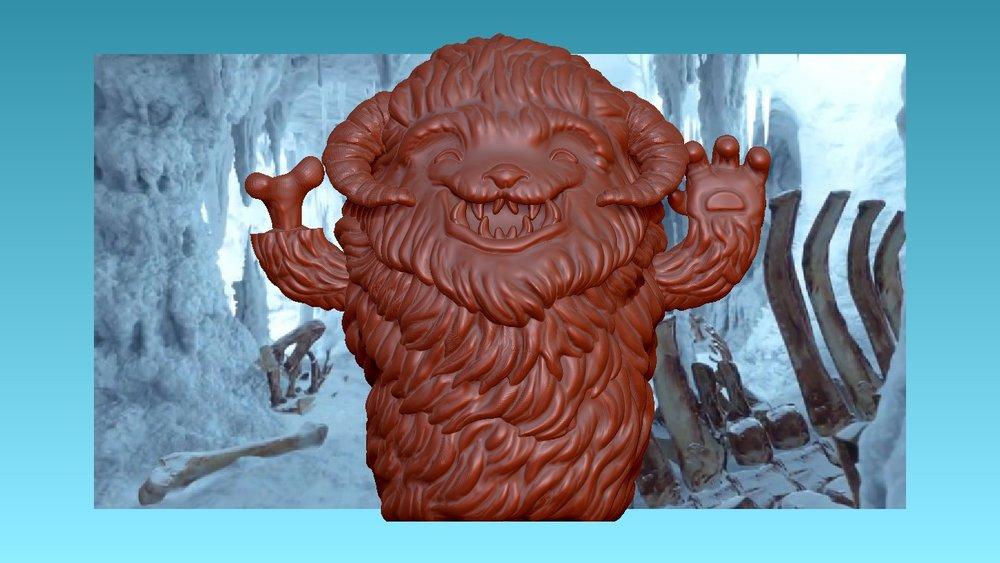 Wampa: Finger Puppet Sculpt