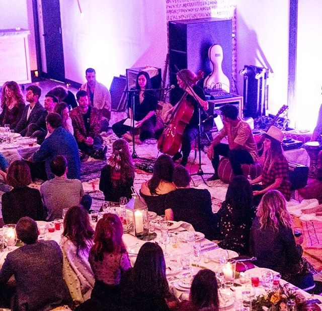 Shabbat is #internationalwomensday come every week:: because once a year is simply not enough:: our 🌎 needs us to learn to honor the feminine ALL YEAR LONG :: and Shabbat is that weekly ritual practice designed to help us learn to honor and embrace the feminine within ourselves and each other :: within each woman's body and within the great Mana Earth we all share :: because SHE is the source of all life on this planet- and this is not an abstract thought kids! Literally EVERY HUMAN walking this earth now and since the beginning of time was given life in the womb of a woman🌎👩🏽👩🏼👩🏿👩🏻👩🏾👩🌎 When we learn to love and honor HER we can't help but love and honor each and every one of her children.    opened up a few more spots for Thursday's Women x Power Trybe Salon!! Join us to learn from and support an incredible line up of ladies: @Miki agrawal @biaggi4ny @laurenzander_coach  @itsjackiecantwell @guidedbybiet @idilmese hosted at @begoldish studio followed by an interactive art exp w @tylergoldflower and a Female Makers Marketplace!! Hosted by our fave #girlgang @ajsalty @justinebean @rosewelch @carli_ar  @biegzz    DM for link💋    From this mama's heart to yours #shabbatshalom #thefutureisfeminine 📷: @tylergoldflower 🌻✨🌻
