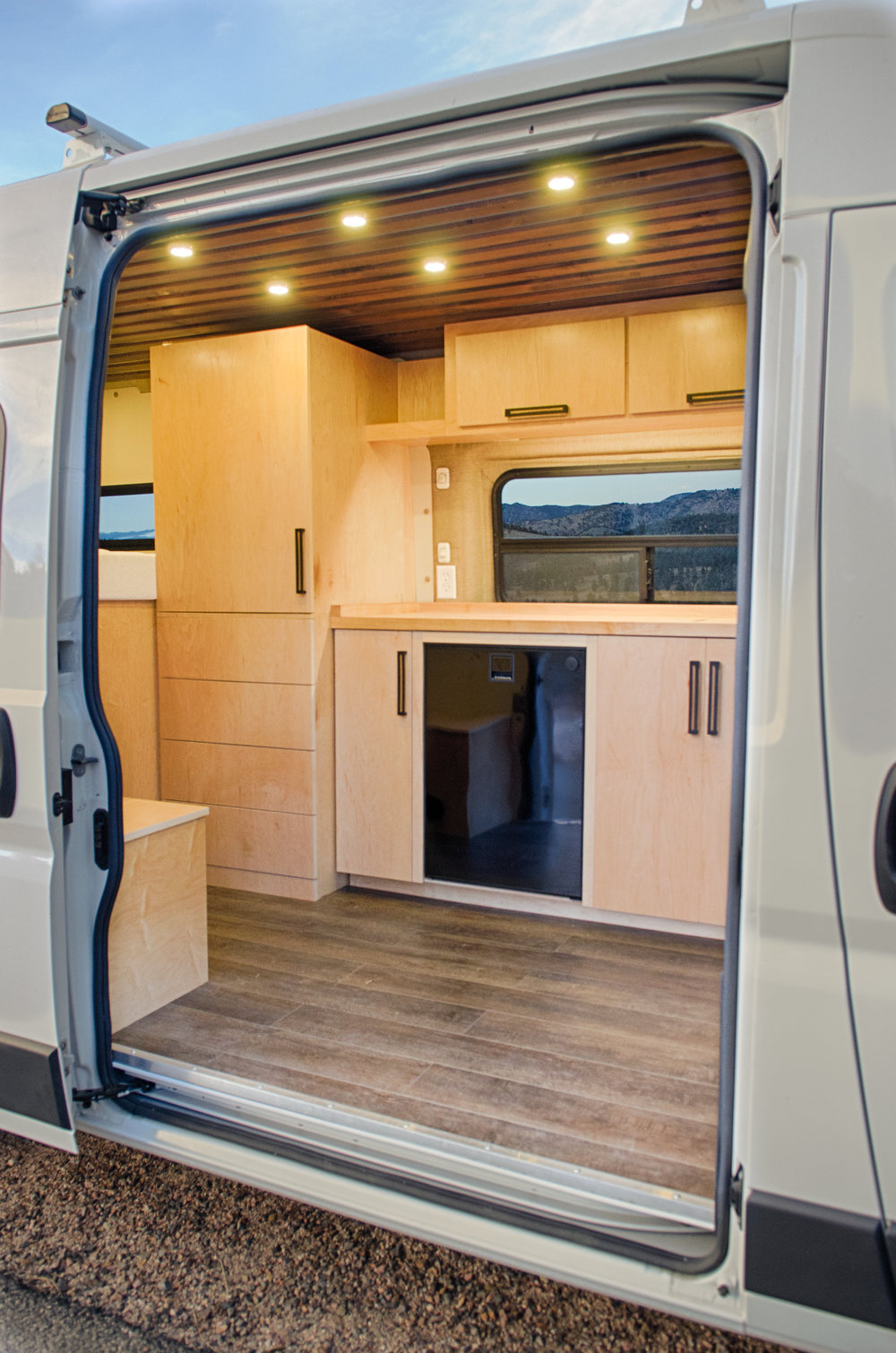 Vanlife Schwartz Promaster Full Res on Custom Ram Diesel