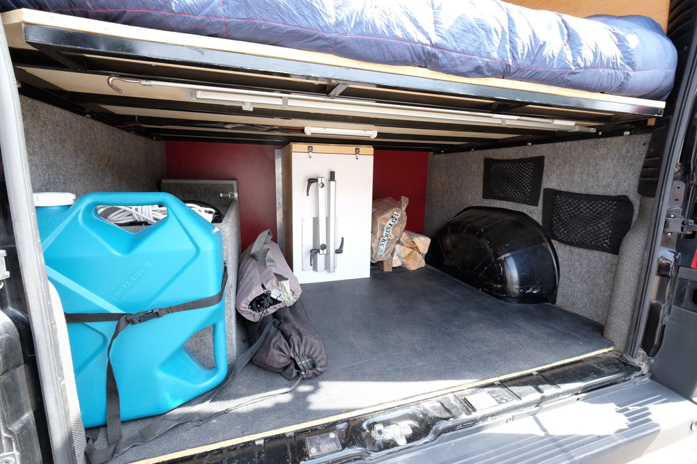 Dodge Promaster Camper Van Conversion Garage (For Sale)