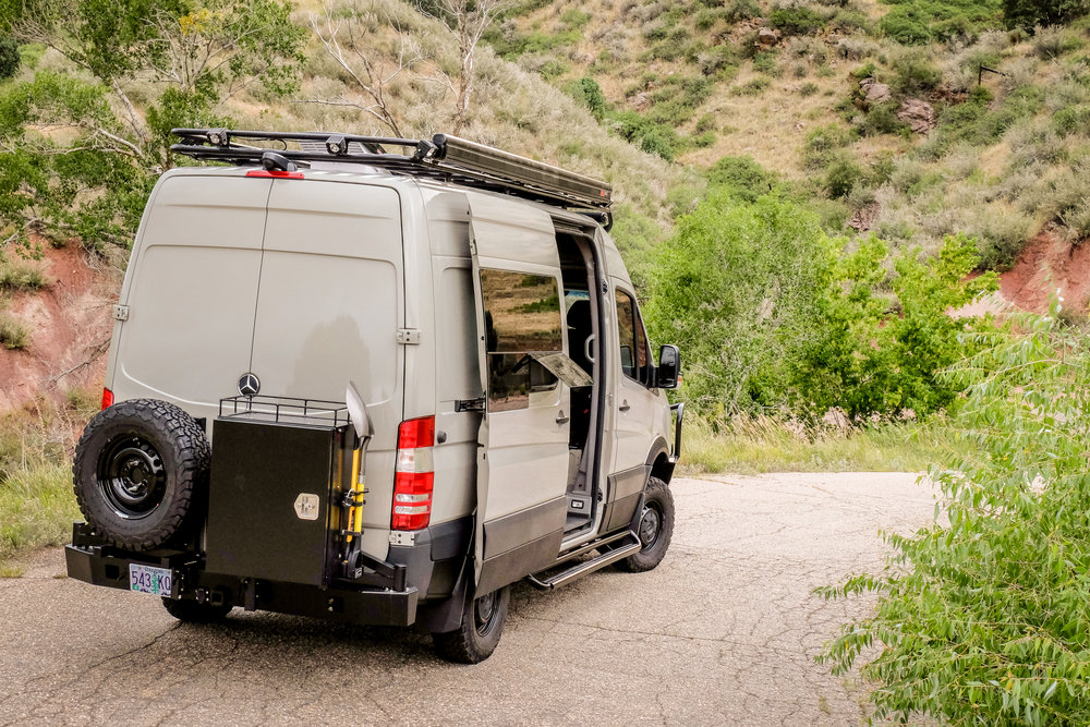 "Vanlife Customs: 144"" Mercedes Sprinter 4x4 Conversion Van"