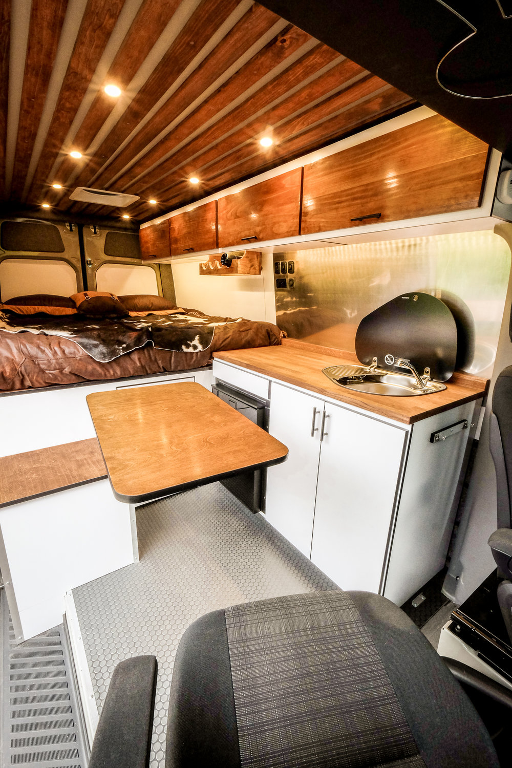 Vanlife Customs Sprinter Lagun Table System