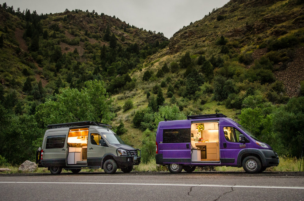 Vanlife Customs: Custom Sprinter and Promaster Camper Van Conversions