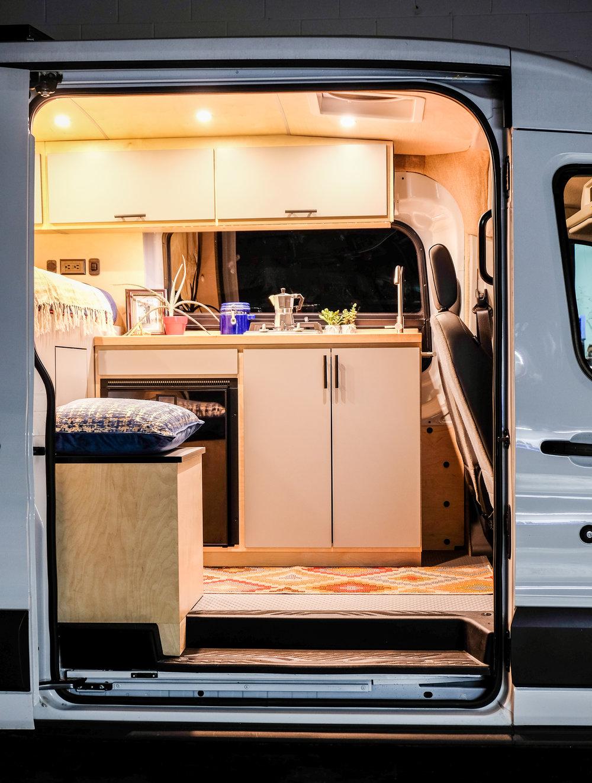 Vanlife Customs Vincent Van-Go Transit Van Conversion
