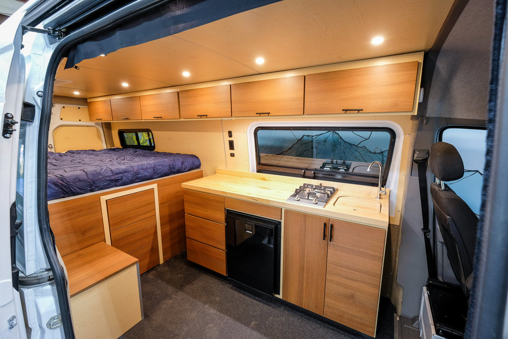 "Vanlife Customs 170"" Sprinter 4x4 Camper Van Conversion"