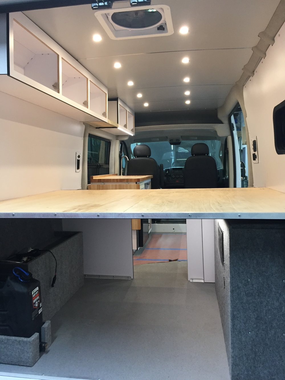 Vanlife Customs Conversion Progress