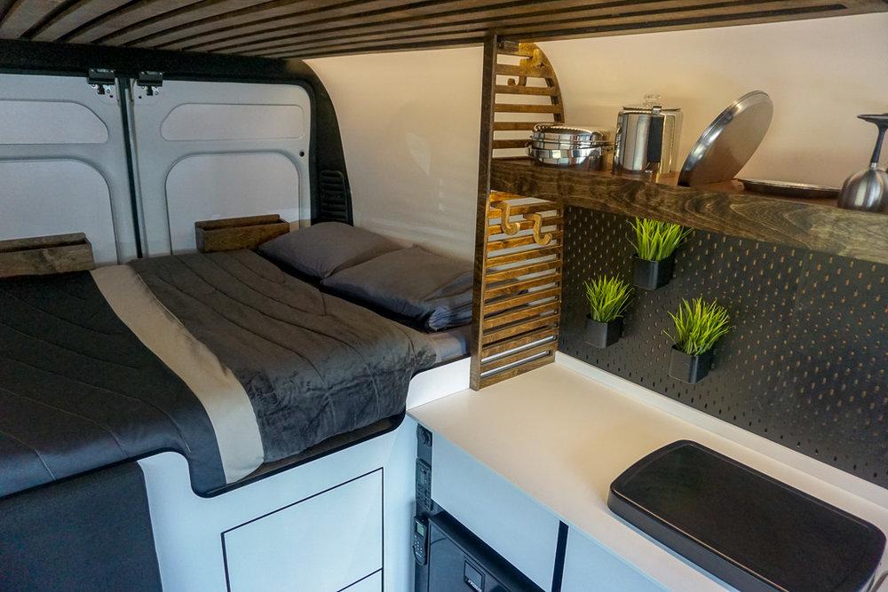 "Vanlife Customs: 136"" Promaster Custom Van Conversion for Native Campervans"