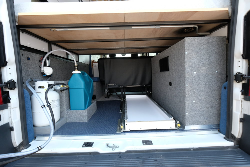 Vanlife Customs: Camper Van Garage