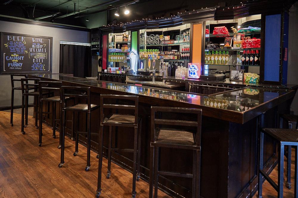 "The ""Loading Dock"" Bar."