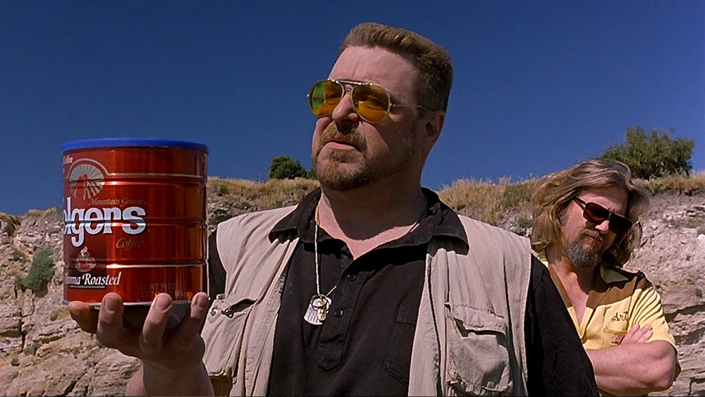 Double Feature will follow The Big Lebowski this week. Do what you will with this.