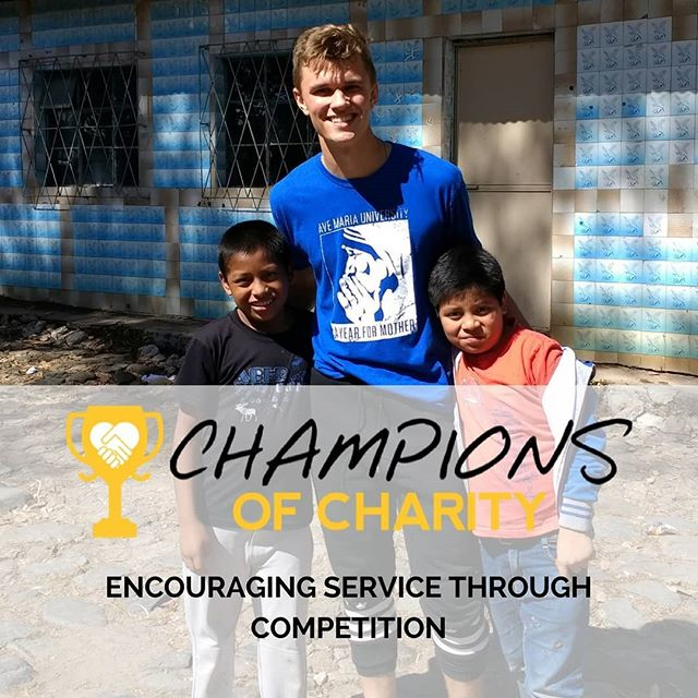 """Only a life lived for others is a life worthwhile"" - Albert Einstein  Find out how you can become a Champion for others with Champions of Charity!  Join the community service competition today! Link in our bio!"