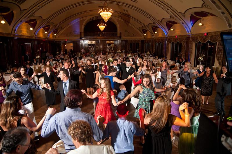 A full dance floor is a staple at a HitMan wedding