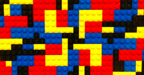 An example of Collaborative Lego Symmetry.