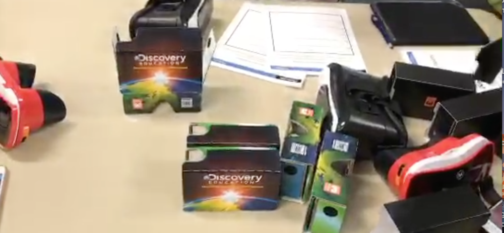 Discovery Education Virtual Reality - Sarah Shares on Periscope