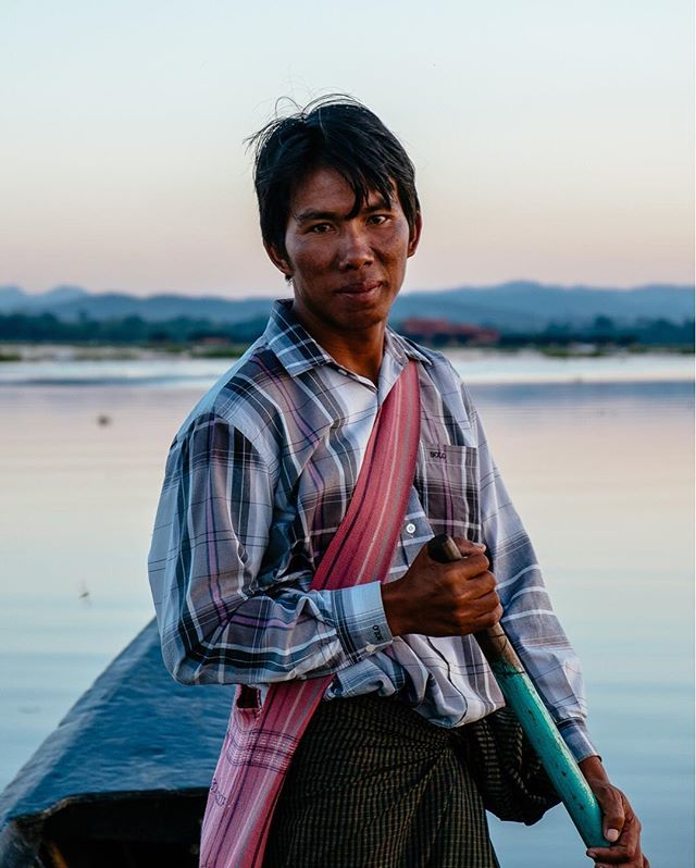 Introduced to us simply as Mr. Smile, our guide at Inle Lake took us around the floating villages, although he might have been a little shy in front of a lens. 🙂