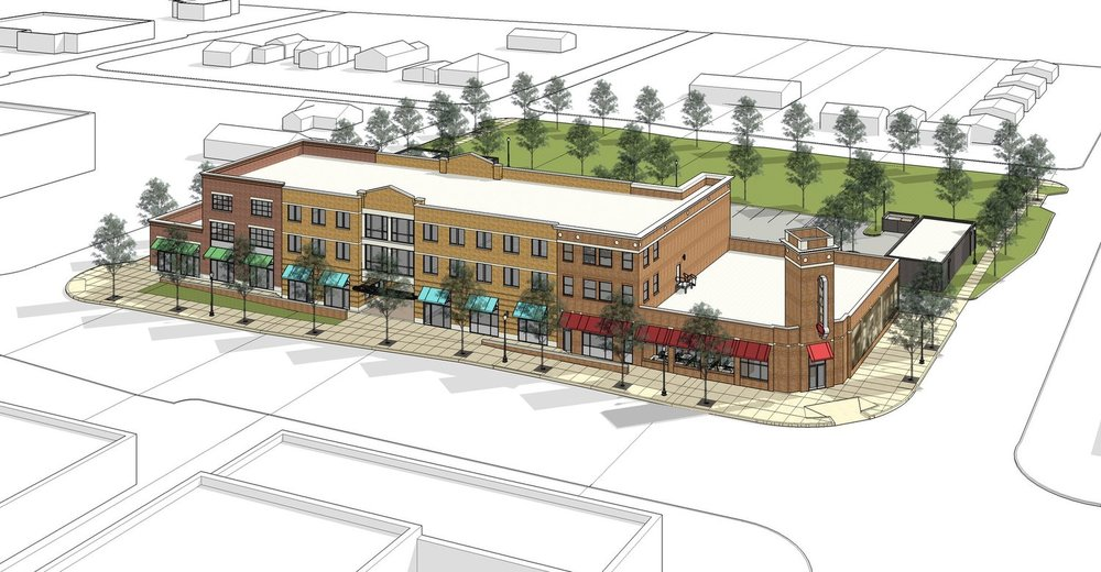 The newly announced  Seven6Main  Development will offer mixed-use retail, restaurant, office, and residential space on the corner of 6th & Main.