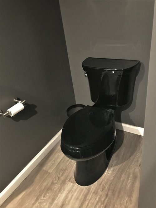 OPTIMIZING YOUR HOME'S SQUARE FOOTAGE - Blog - Kingdom Construction and Remodel - Black+toilet