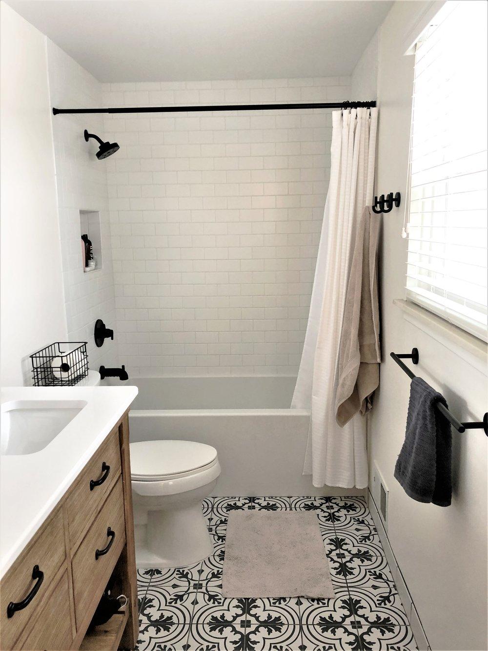 Eclectic Bathroom Renovation
