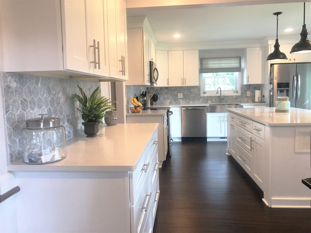 Long View Of Complete Kitchen