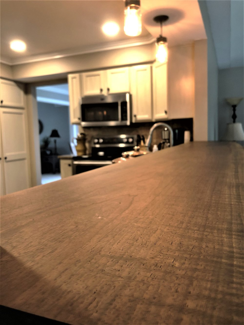 Live edge bar top kitchen renovation.jpg