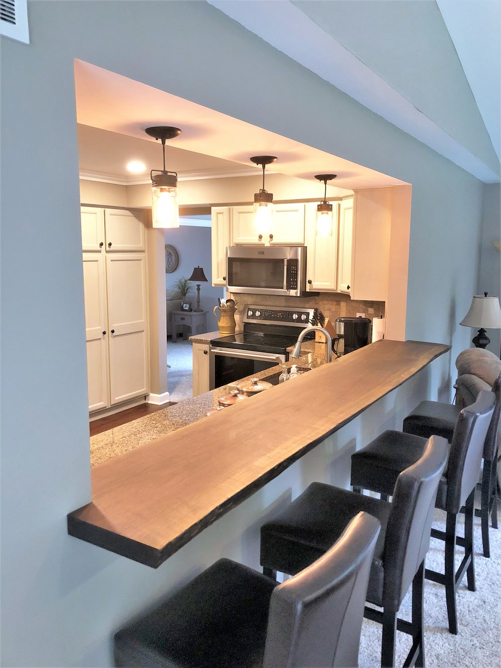 Open Concept Kitchen in Northville