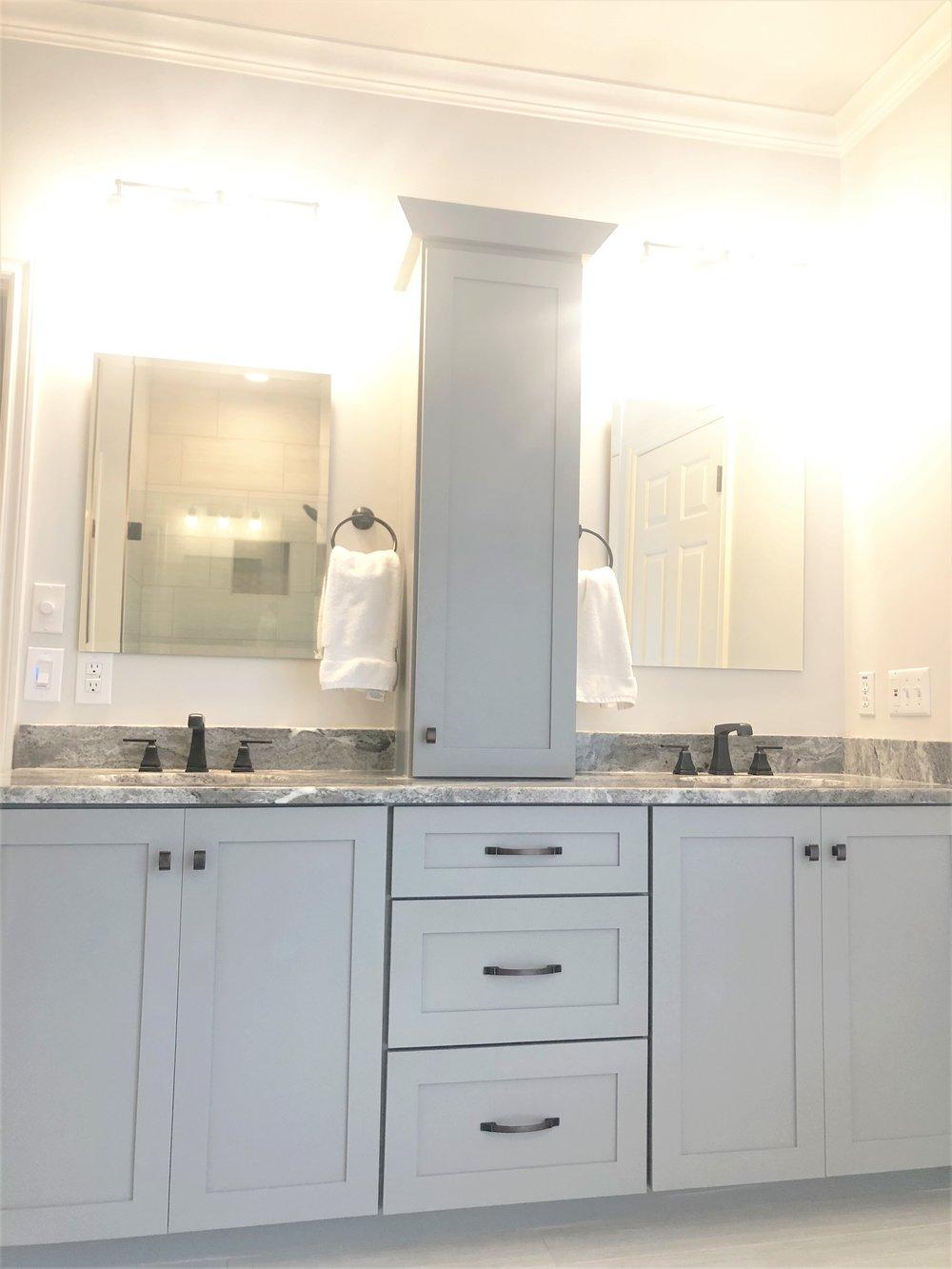Remodeled Custom Bathroom