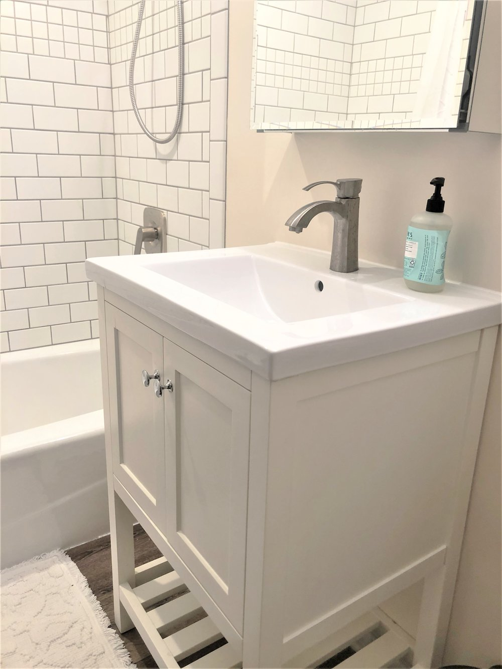 Renovated Ann Arbor bathroom