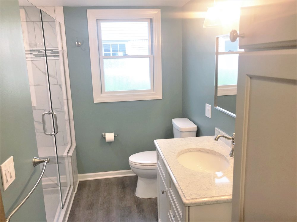 Plymouth Bathroom remodel
