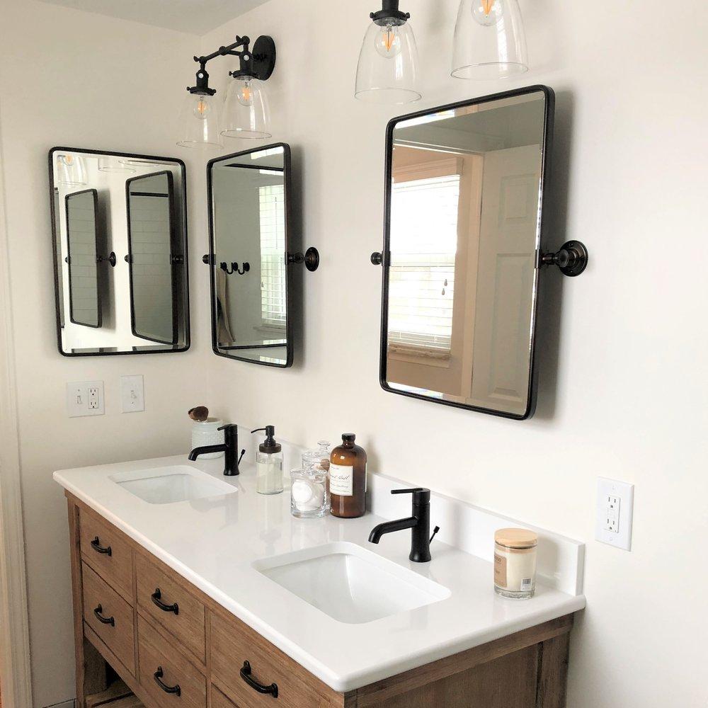 Eclectic Bathroom Remodel