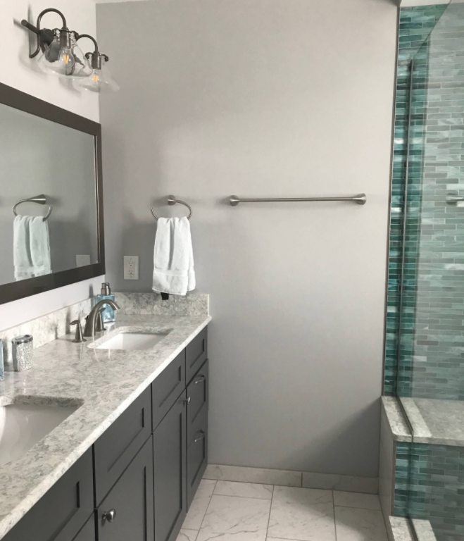 Install & Remodel - With in-house labor & project managers, our installation process offers you high-end finishes for your bathroom renovation. Our skilled labor assures your dream bathroom renovation is achievable from start to finish.