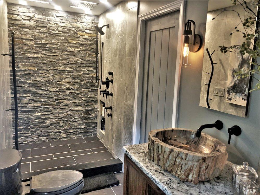 Master Bathroom Renovation in Canton