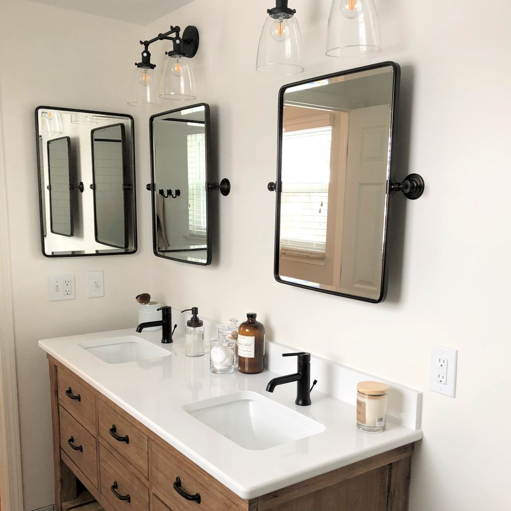 Eclectic Bathroom Remodel in Plymouth