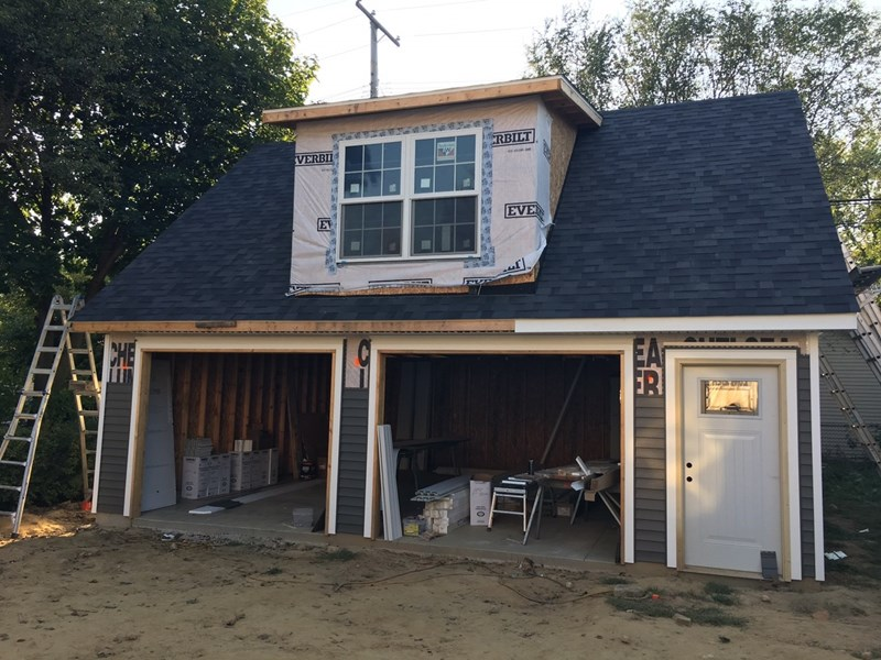 Exterior home remodel in Plymouth, MI