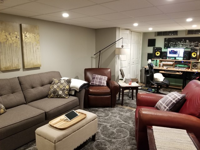 Install & Remodel - With in-house labor & project managers, our installation process offers you high-end finishes for your basement renovation. Our skilled labor assures your dream basement renovation is achievable.
