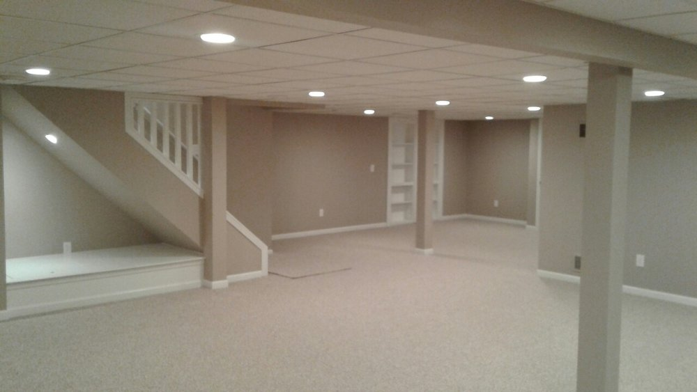 Custom Basement Renovation