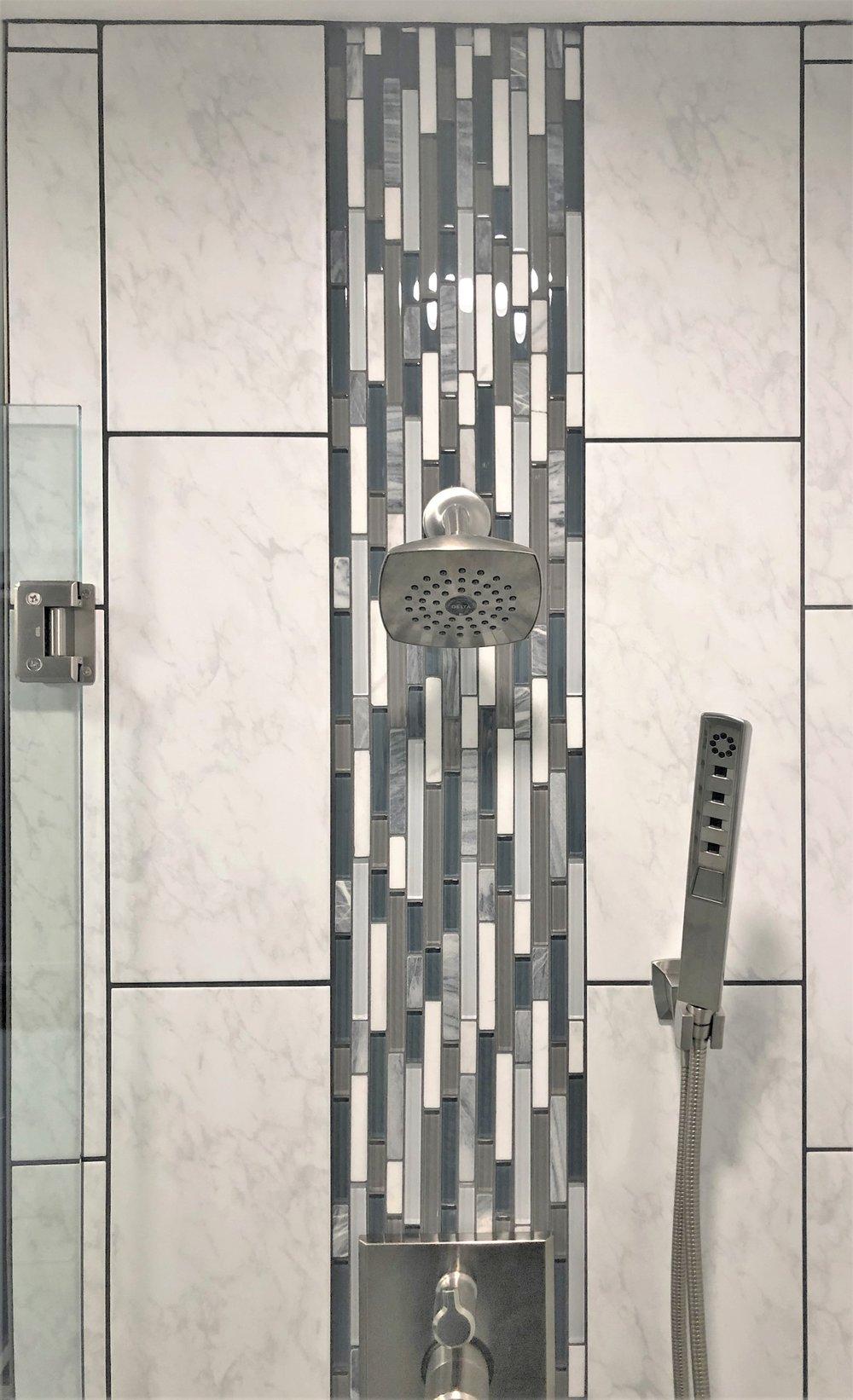 Complete shower redeisgn