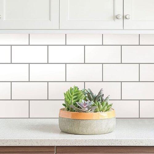 Design Trends We Love - Blog - Kingdom Construction and Remodel - Subway+Tile+Peel+%26+Stick+Backsplash