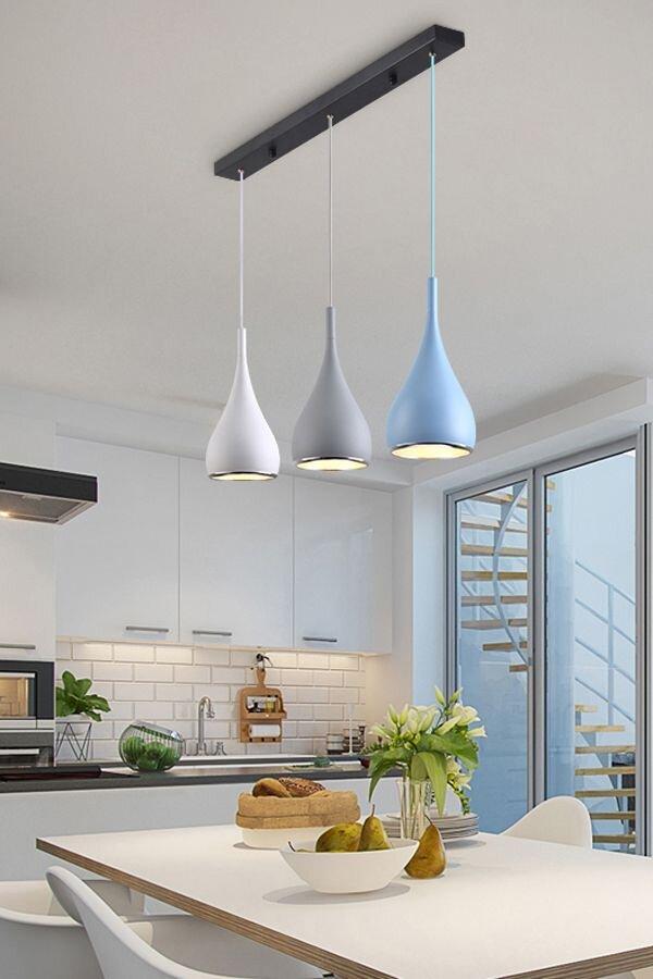Design Trends We Love - Blog - Kingdom Construction and Remodel - Modern+Simple+Pendant+Lights+Minimalist+LED+Hanging+Lamp