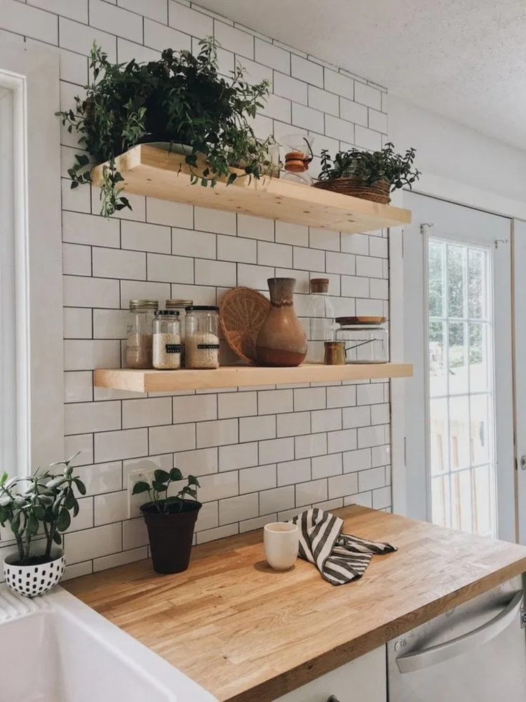 Design Trends We Love - Blog - Kingdom Construction and Remodel - %E2%9C%9480+Simple+Kitchen+Open+Shelving+Ideas+To+Inspire+You+%23kitchen+%23kitchendecor+%23kitchendesign+%23kitchenshelving+_+andro_com