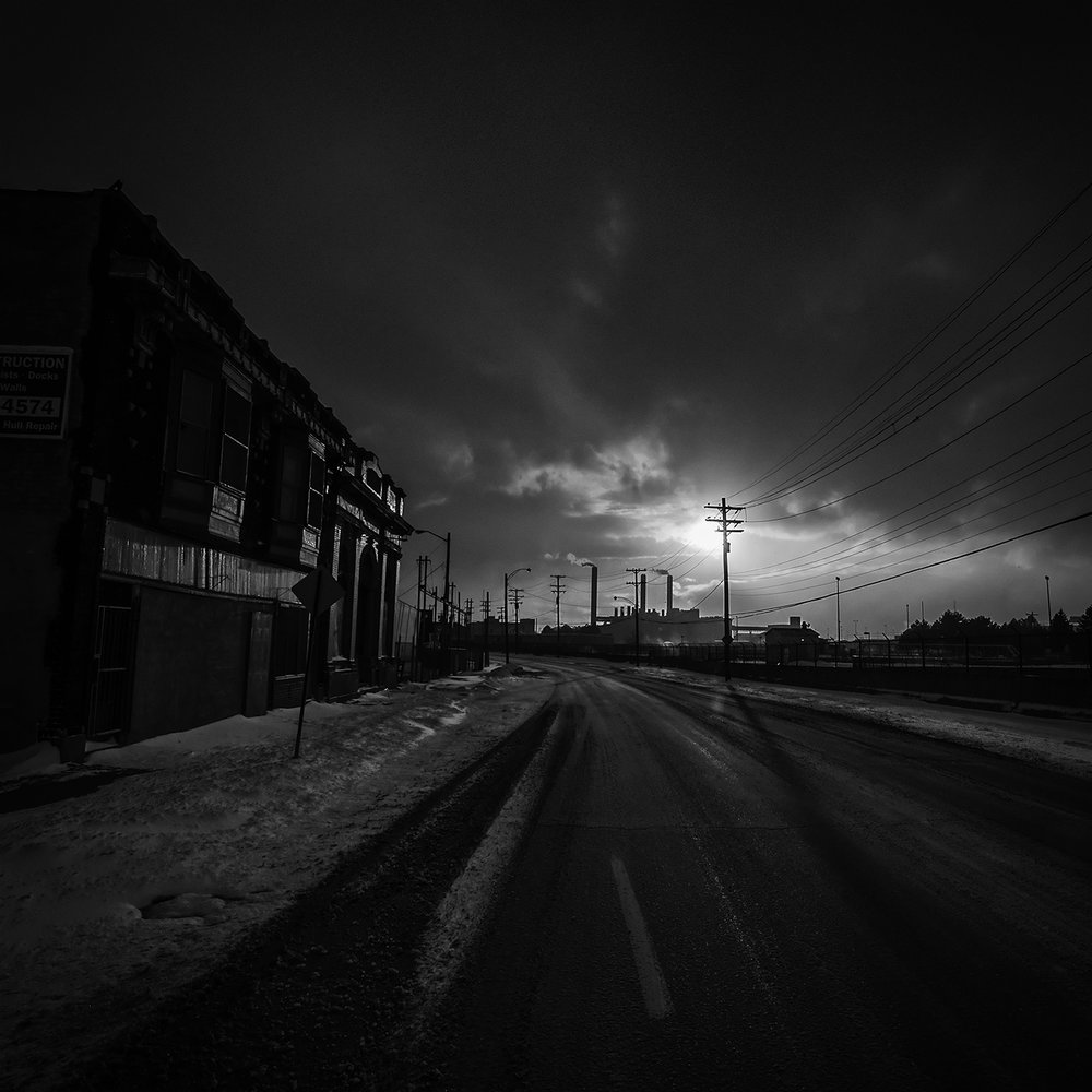 Last Light. Delray, Detroit, 2014