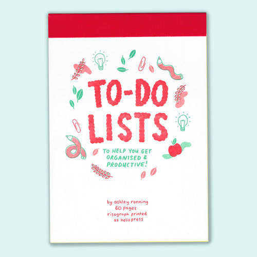 To Do Lists Cover Shop