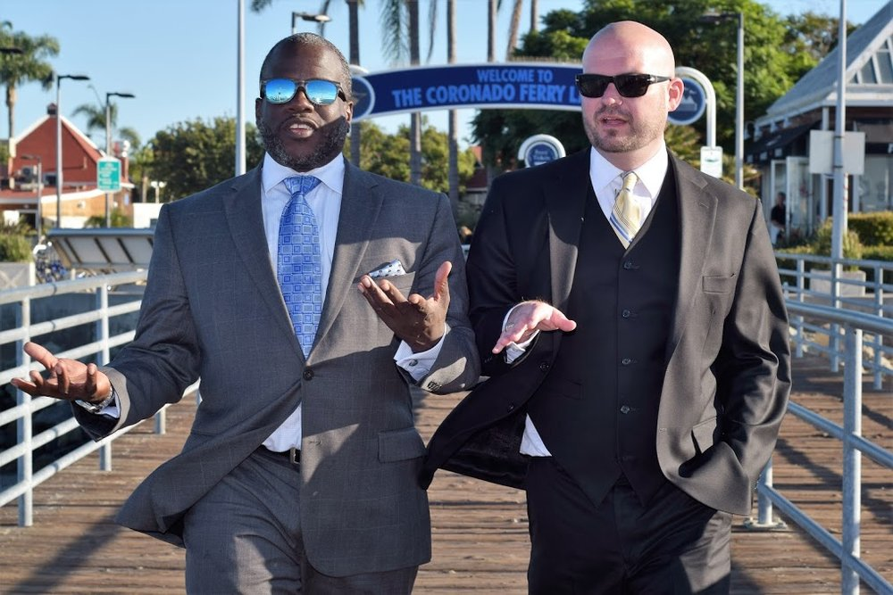 Ryan Tegnelia and Marcus DeBose San Diego Criminal Defense Attorneys Serving San Diego Superior Court Central Branch, South Bay, Vista, El Cajon.