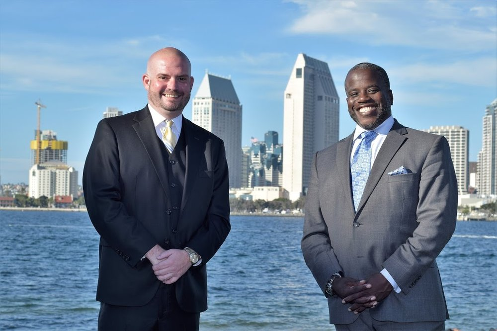 iRyan Tegnelia and Marcus DeBose San Diego Criminal Defense Attorneys Serving San Diego Superior Court Central Branch, South Bay, Vista, El Cajon.