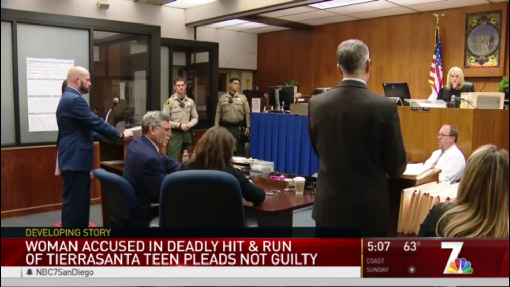 Attorney Ryan Tegnelia defends EmailMyLawyer.com client in San Diego Superior Court for deadly hit and run charges.
