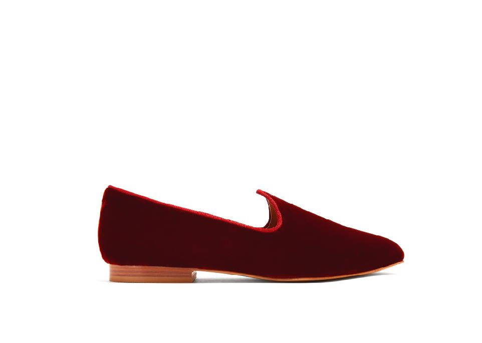 Velvet Slippers; $295
