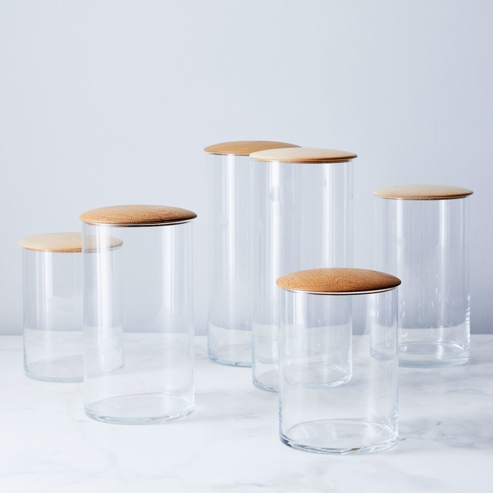 Glass Storage Containers; $35-$120